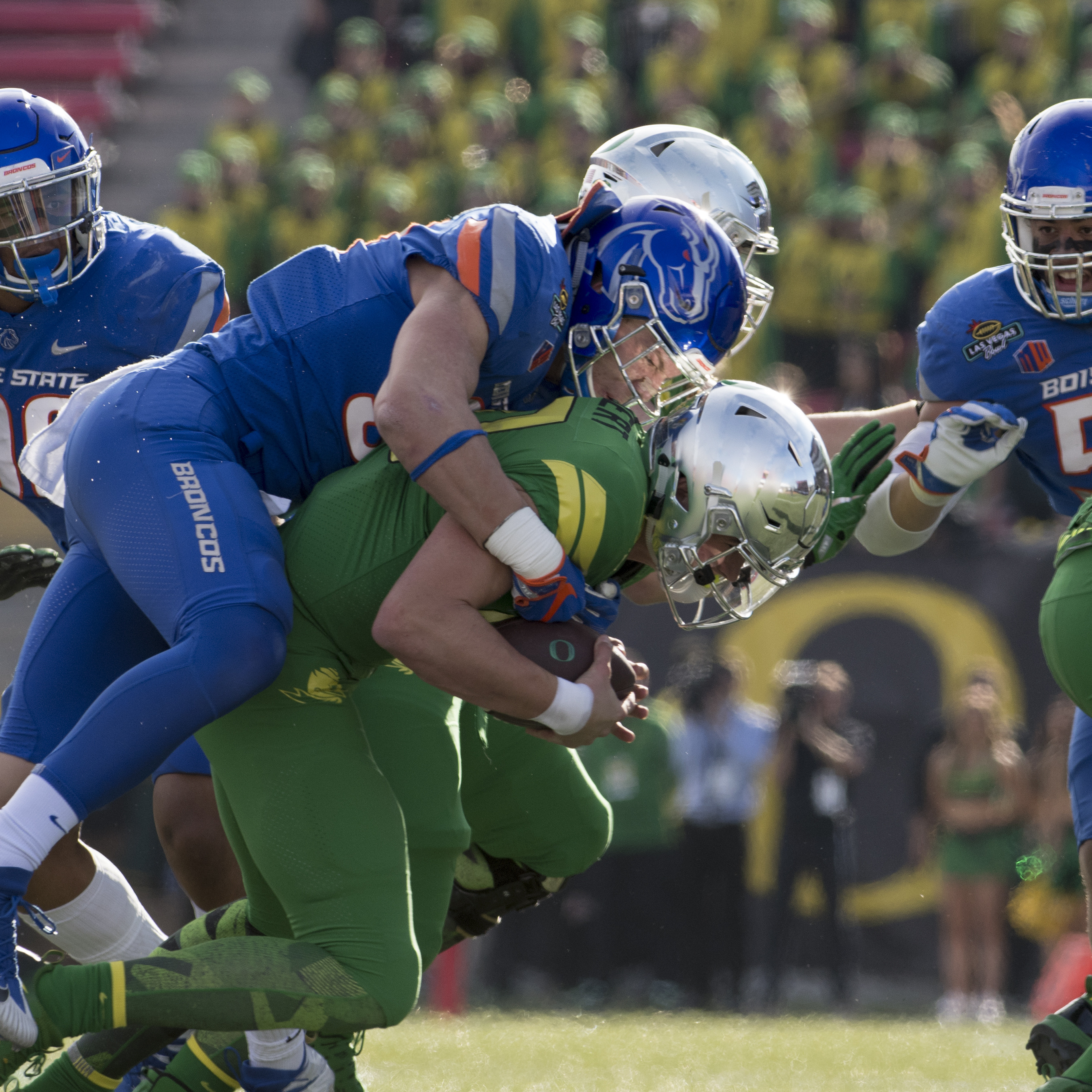 Boise state football vs oregon las vegas bowl 2017 john kelly photo