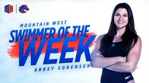 Abbey Sorensen MW Swimmer of the Week