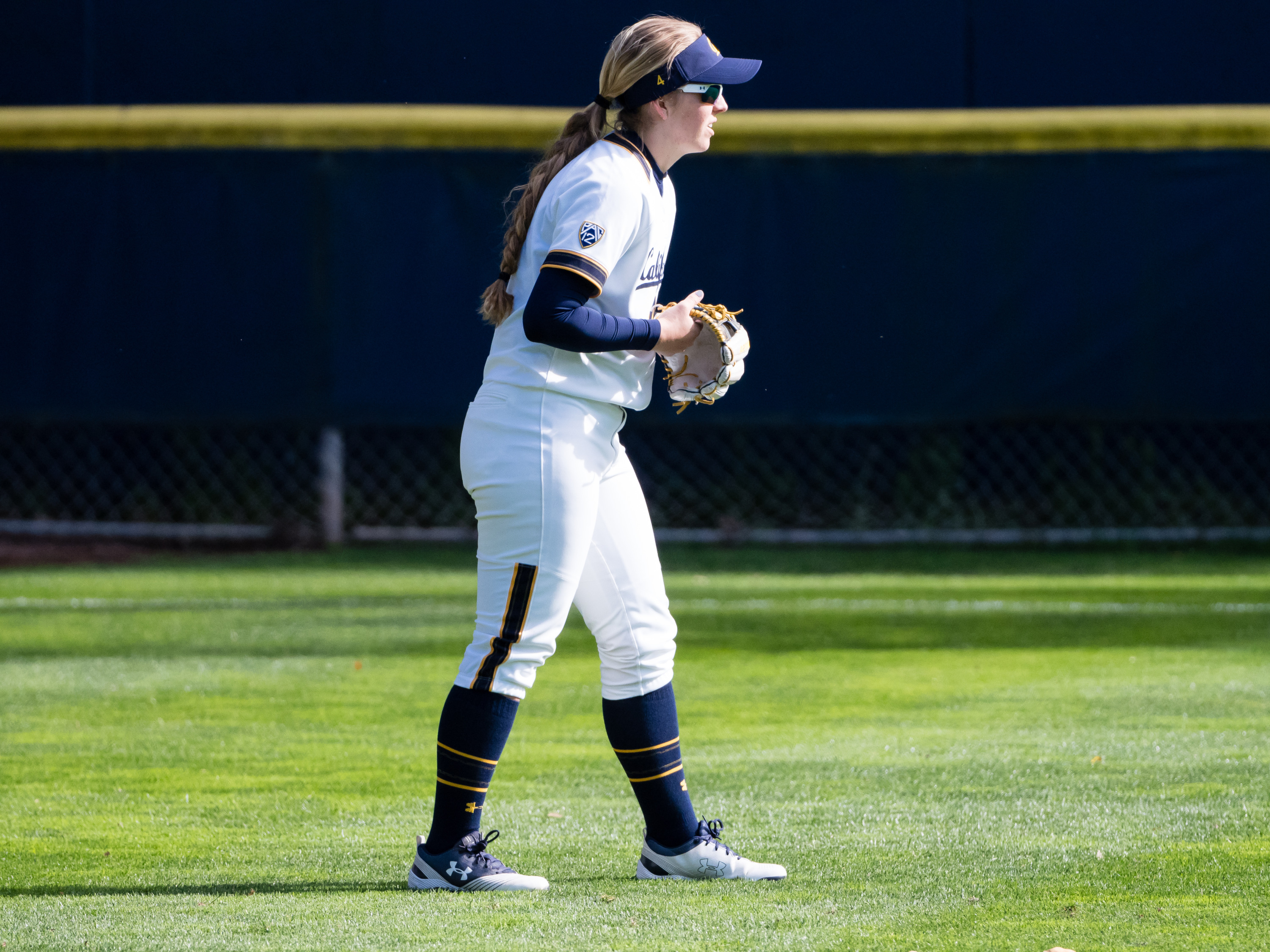 Bradie Fillmore this past season with the Golden Bears