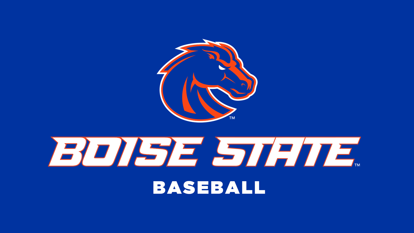 Baseball logo 1920x1080 blue background boise state baseball partners with axe bat